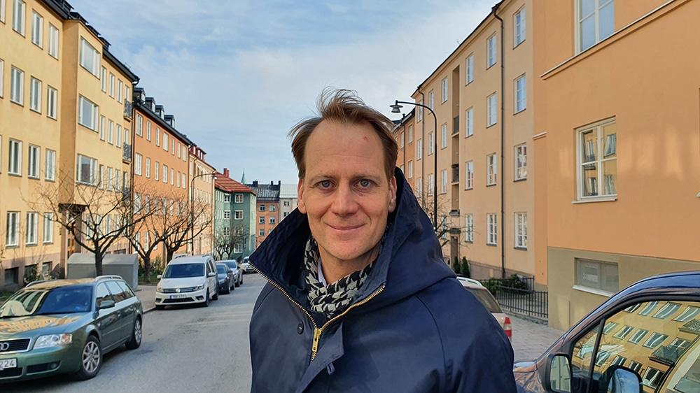 Jonas Arnberg, vd HUI Research
